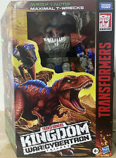 Hasbro Transformers WFC Kingdom Leader Class WFC-K37 Maximal T-Wrecks in stock
