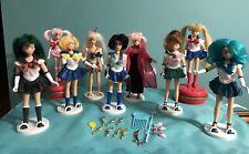 Sailor moon & Planet Friends Lot of 9 1995 - 2000, Irwin 6 inch dolls