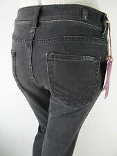 Seven for all Mankind SFAM 7FAM High Waist Jeans Glitter Schwarz 26