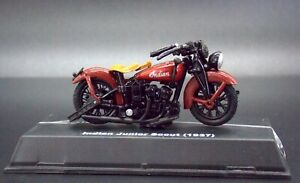 1937 Indian Junior Scout Motorcycle Scale 1:32 Model Die Cast #A78