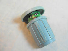 Vintage Fisher Price Little People 938 Sesame Street Oscar Grouch Garbage Can