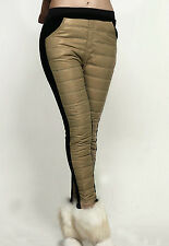 Winter Khaki Eiderdown Leggings size 8