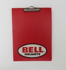 VINTAGE 60's TOPTEX BELL HELMET CLIP BOARD PAPER FOLDER - RARE - TRACK NOTES