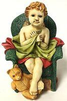 Vintage Harmony Kingdom Joyeaux Angetique Angel Cherub Box Figurine