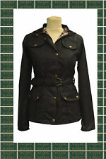 Cotton Patternless Biker Jackets for Women