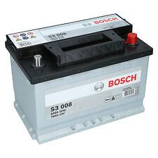 BOSCH S3 008  70Ah 12V 640A Autobatterie Starterbatterie sofort Einsatzbereit