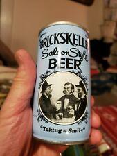BRICKSKELLER SALOON STYLE BEER. 12 Oz. Steel American Beer Can.