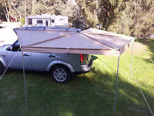 NEW WING AWNING  2.5 M LONG RIP STOP SKYWING BATWING ROOF TENT FOXWING  CAMPING