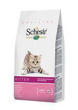 SCHESIR CAT Kitten Pollo Kg.1,5 Gattini Croccantini secco alimento crocche Gatti