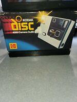 Vintage 1980s Kodak Disc 4000 Camera With Box USA