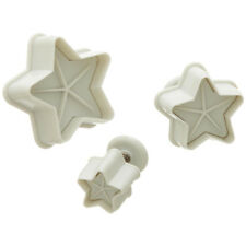Ateco Star Plunger Cutters ,Set of 3 Cutters- 1958