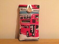 Handmade Cath Kidston London Buses iPod Nano 7th / 8th Gen Fabric Padded Case