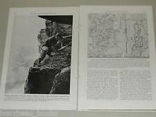 1948 magazine article, Nature Wyoming, Flowers, mountaineering