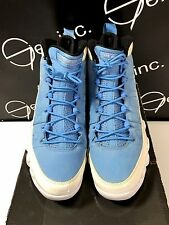 Authentic Nike Air Jordan 9 Ftlotg For The Love Of The Game Blue White Size 10.5