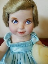 Princess Diana Franklin Mint Portrait Porcelain Baby Doll