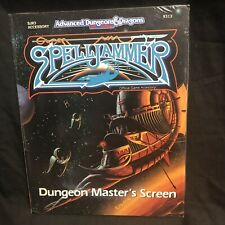 SpellJammer Dungeon Master's Screen #9313 2nd Edition AD&D TSR Sealed