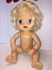 Baby Alive My Baby Alive Blonde Interactive Talks Pees 2010 Hasbro Read