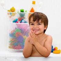 BABY KIDS BATH BATHTUB TOY MESH NET STORAGE BAG HOLDER HANGING ORGANIZER KAWAII
