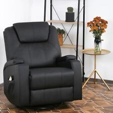 Recliner Chair Reclining Sofa PU Leather Power Recliner Electric Massage Chair