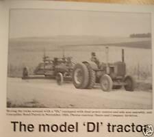 John Deere Model DI tractor Green Magazine D industrial, Manure spreaders 39-60