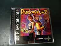 Pandemonium 2 Sony PS1 Playstation One  Complete Rare Tested & Working