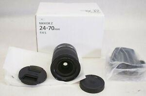 NEW Nikon Nikkor Z 24-70mm f/4 S Camera Lens