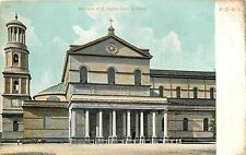 Basilica of Saint Paul Rome Italy Postcard