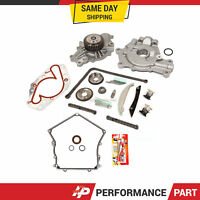 Timing Chain Kit Cover Gasket Water Pump Oil Pump for 09-10 Dodge Chrysler 2.7