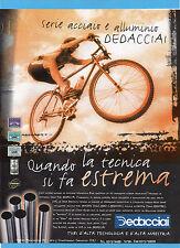 BICMON997-PUBBLICITA'/ADVERTISING-1997- DEDACCIAI SERIE ACCIAIO E ALLUMINIO