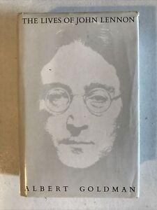 The Lives of John Lennon by Albert Goldman Hardback Dust Jacket 1988 1st Ed