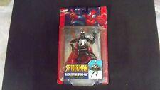 2004 Spider-man Black Costume Missile Launching Glider Sealed Marvel Toy Biz NIB