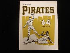 1964 Pittsburgh Pirates Baseball Yearbook