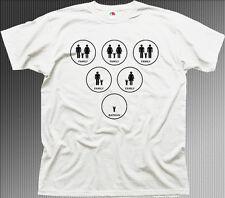 BATMAN FAMILY dark knight funny white printed t-shirt 9942