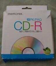 Memorex CD-R Discs 52x 7 pk