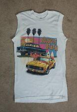 Vtg 80s Muscle Beach Ocean Surf Chevy Chevrolet Camaro T Shirt 1988 Usa Small
