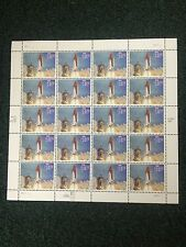 1994 SC# 2544a  UNITED STATES SPACE SHUTTLE STAMP SHEET OF 20 CV $575.00 VF/NH