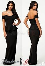 Polyester Plus Size Formal Dresses without Pattern for Women