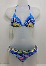 Maaji Swim 2 Piece Bikini Swimsuit Sz S Multi Color (covi3)