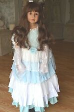 Masterpiece Dolls Cinderella Wavy Brown Hair, Brown  Eyes, Monka Levenig, 48""