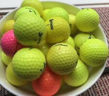 20 Mixed Colour Golf Balls ( Mainly Srixon & Callaway ) Excellent Grade AAA