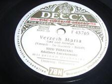(S0043) Vico Torriani - Verzeih, Maria - Habanera - Musterplatte