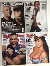 Lot 4 Rolling Stone Magazine Dre Ice Cube Kevin Hart Kardashian Russell Wilson