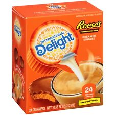 International Delight Reese's Peanut Butter Cup Creamer Cream Singles 24 Count