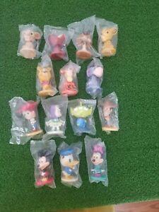 2002 LOT 14 Disney World Resort KELLOGG'S Bobbleheads MICKEY Toy Story LION KING