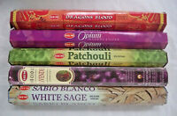 Genuine Hem Top Incense Stick pack of 5 x 20 = 100 Sticks Bulk Box