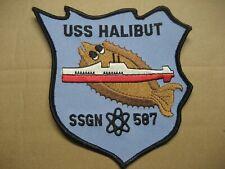 /US NAVY Patch Submarine USS HALIBUT SSGN-587