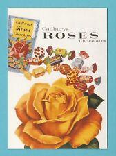 ADVERTISING  -  ROBERT  OPIE  POSTCARD  -  CADBURY'S  ROSES