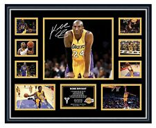 29d974979 KOBE BRYANT LA LAKERS SIGNED PHOTO LIMITED EDITION FRAMED MEMORABILIA