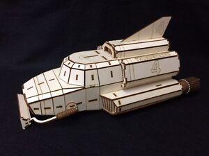 Laser Cut Wooden TB4 3D Model/Puzzle Kit