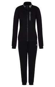 Tracksuit EA7 Emporio Armani 7 EA Woman Black Jacket Pants